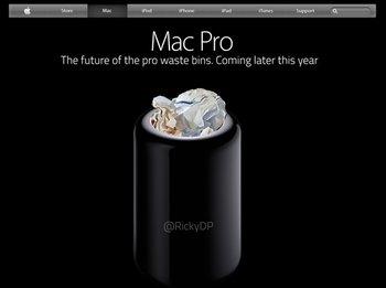 Mac Pro als Papierkorb