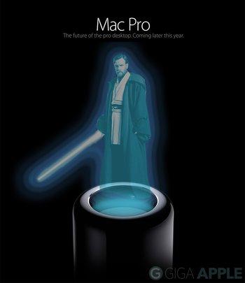 Mac Pro als Holo-Beamer