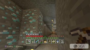 Just as I was about to give up looking in this direction&#8230&#x3B; #MinecraftPS4 #PS4share http://t.co/FJfmGRdh1e