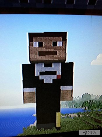 @AH_BrownMan look who appeared in my #minecraftPS4 world… http://t.co/ygTn7GMU2B