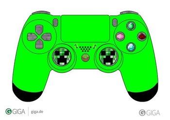 @Follow_The_G #MinecraftPS4 Mein erster versuch für das gewinnspiel bin noch nicht ganz zufrieden mit dem Grün. http://t.co/hUIhKrP4Ee