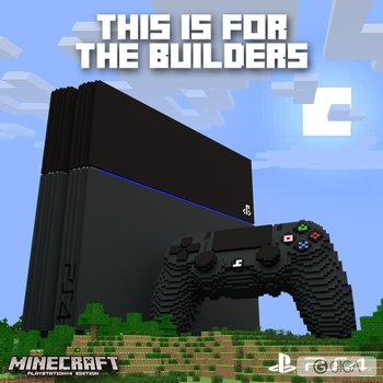 """@4JStudios: #MinecraftPS4 is out now in Europe and later today in North America! http://t.co/uhx7tE2LHc"""