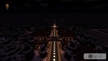 Snowdrift City with a mysterious Ice Temple maze. Come explore!  #PS4share #MinecraftPS4 @4JStudios @InTheLittleWood http://t.co/hYguGbNWv6