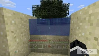 Gotta love glitchy water. #MinecraftPS4 #PS4share http://t.co/otoYXHwXDo