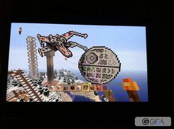 Did this on @jayFlint server. Woot! Pew pew! #Minecraft #MinecraftPS4 http://t.co/cbjm8tUwoO
