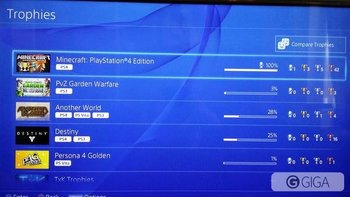 #MinecraftPS4 #Platinum finally got it!! http://t.co/s8UwtiQGTN