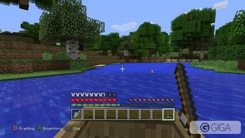 The peaceful act of fishing in #MinecraftPS4 #PS4share http://t.co/dS2TVECdzj