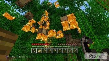 Yup. Burn it all down. #MinecraftPS4 #PS4share http://t.co/YjLFO1mZz4