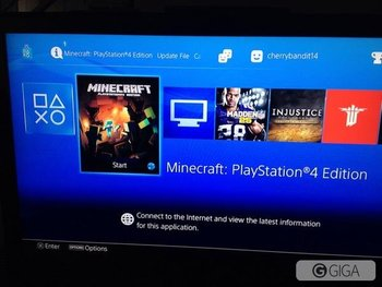 Itssss on #minecraftps4 http://t.co/GDkRrgG4H0