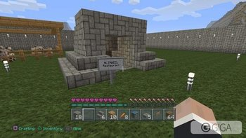The restaurant  ready to receive your orders =)) #minecraftPS4  #PS4shareWith @ayoob_17 w eljma3a http://t.co/qYw9iOHouz