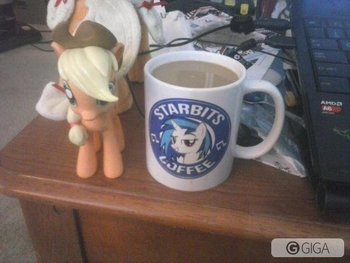 Second cup of coffee and live stream is going! Lets buck this! #Brony #MinecraftPS4 http://t.co/95PlH9LvIO
