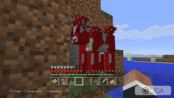 La vaca loca xD #MinecraftPS4 #PS4share http://t.co/nKhTJirTTx