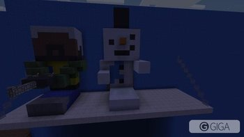 @Ytsnowdriven cooling down near the ac. #MinecraftPS4 #HungerGames http://t.co/fEa40jURJu