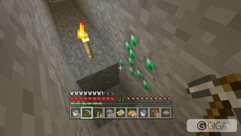 I have found more emerald than diamond in #Minecraftps4 #PS4share http://t.co/LwsgSQSG3F