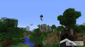 Random floating tree! #MinecraftPS4 #PS4share http://t.co/wsKsRst7el