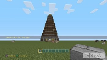 #minecraftps4  #PS4share Amazing Build. With my sister! Im going to try to make it on survival mode !!! http://t.co/TRa8rRoUau