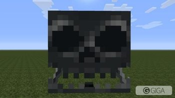 #minecraftps4 Skeleton face! #PS4share http://t.co/mhtZaSRP4B