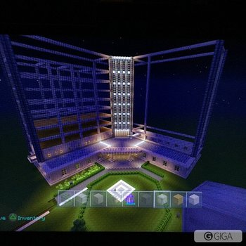Work in progress. #casino #Minecraft #minecraftps4 #ps4 #playstation4 http://t.co/jgUQrIEsdp