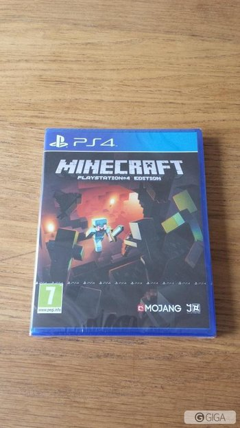 Yes look what just got delivered #MinecraftPS4 http://t.co/DunVHlMhRJ
