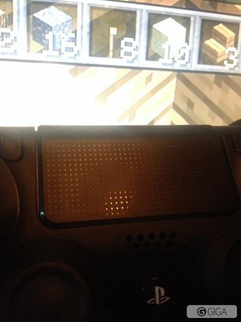 I think the ability to use the #touchpad on #ps4 to play #minecraft is my favourite feature #MinecraftPS4 http://t.co/Ak4QeYexes