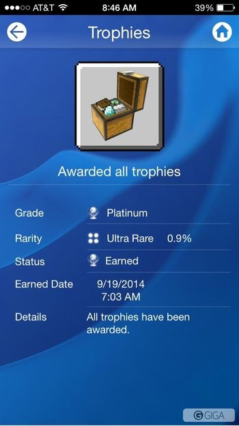 Just got the platinum for minecraft #minecraftps4 http://t.co/fPgpkpks9t