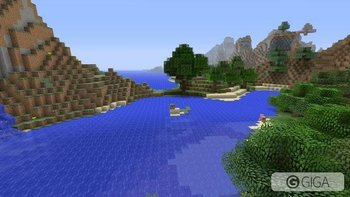 beautiful lakeside view  #MinecraftPS4 http://t.co/1IzDwROaAv