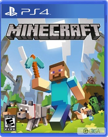 This Friday #MinecraftPS4 will be released on disc!! #steve http://t.co/SiwWRl66ot