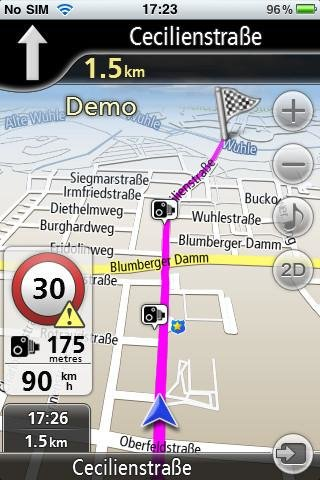 download-navfree-gps-live-deutschland-screenshot