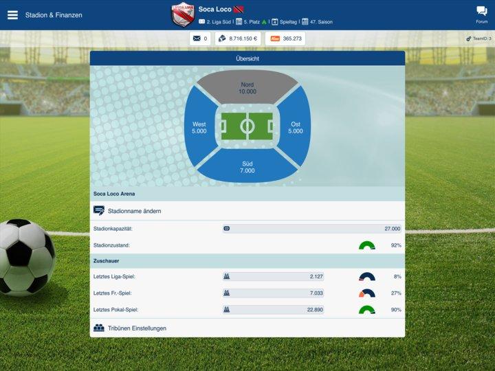fussballmanager online spielen