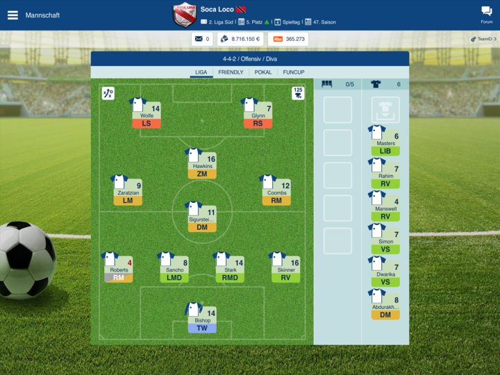 ofm browsergame online fussball manager spiele