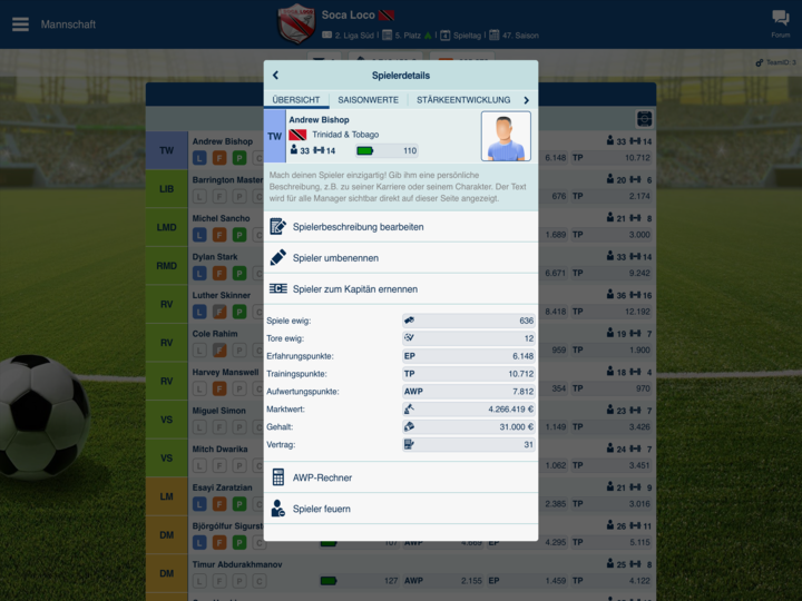 fussball manager online spielen