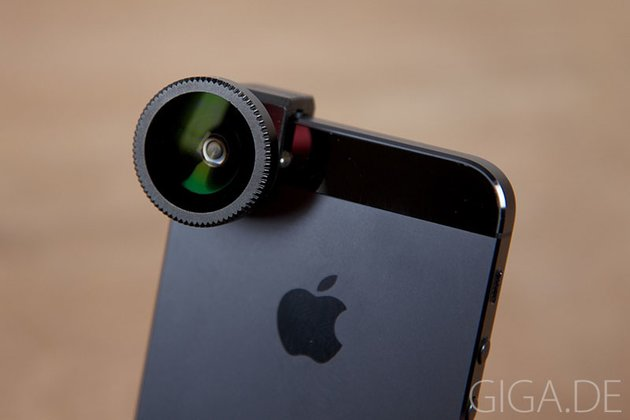 Olloclip for iPhone 5 - Fisheye-Linse