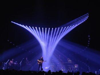 Schwierige Lichtbedingungen: Ein Konzert stellt das OnePlus 6T passabel, aber nicht überragend dar. (© Frank Ritter/GIGA.DE)
