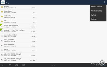 ownCloud für Android Screenshot 6