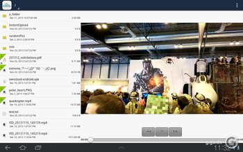 ownCloud für Android Screenshot 2