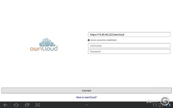 ownCloud für Android Screenshot 7