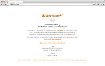 ProxMate fuer Chrome Grooveshark