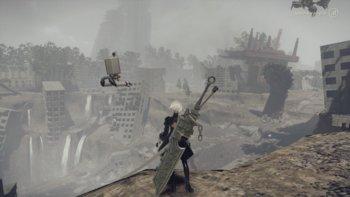 Die überwucherte Ruinenstadt