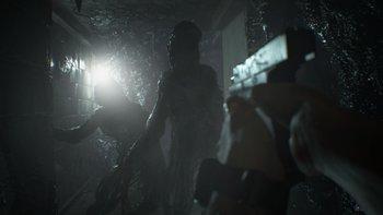"""Die """"Molded"""" sind eine Gegner-Art in Resident Evil 7."""