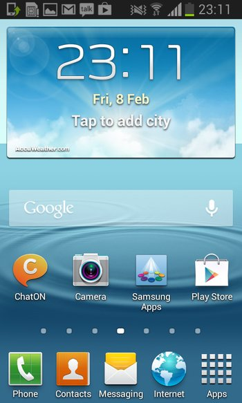 Samsung Galaxy Ace 2 Jelly Bean Update
