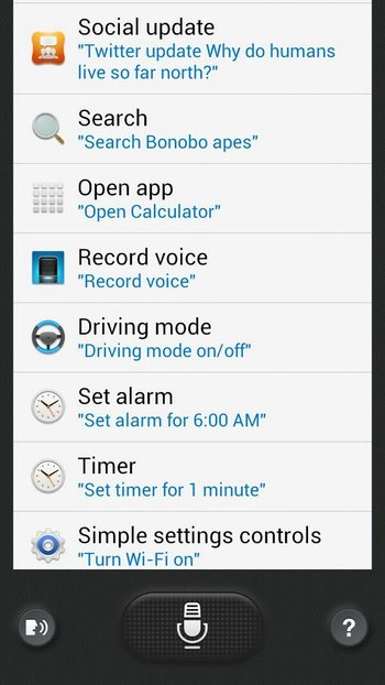 Samsung Galaxy S4 S Voice Port - Note 2