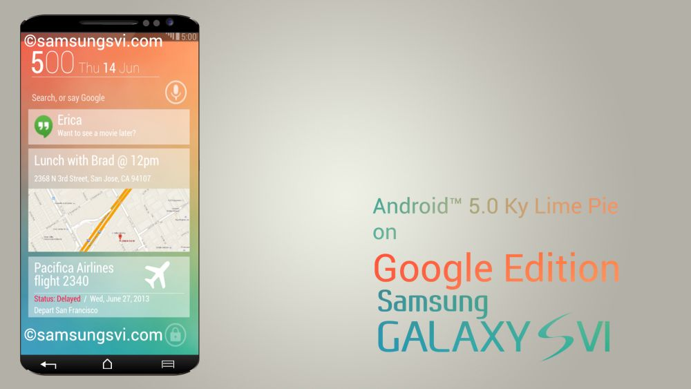 Samsung Galaxy S6 Und S6 Mini Konzepte Von Samsungvi