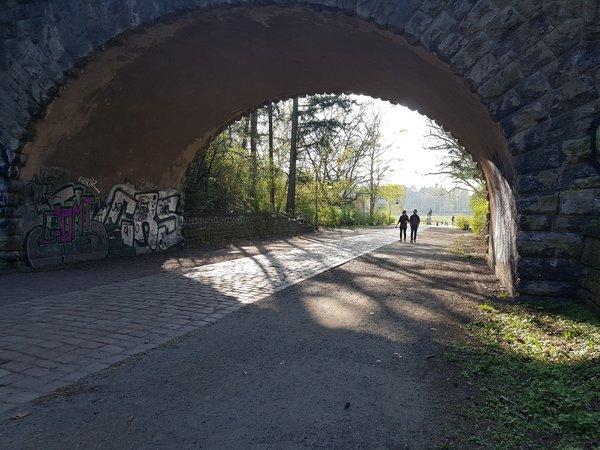 Testfoto Brücke/Gegenlicht: Samsung Galaxy S7