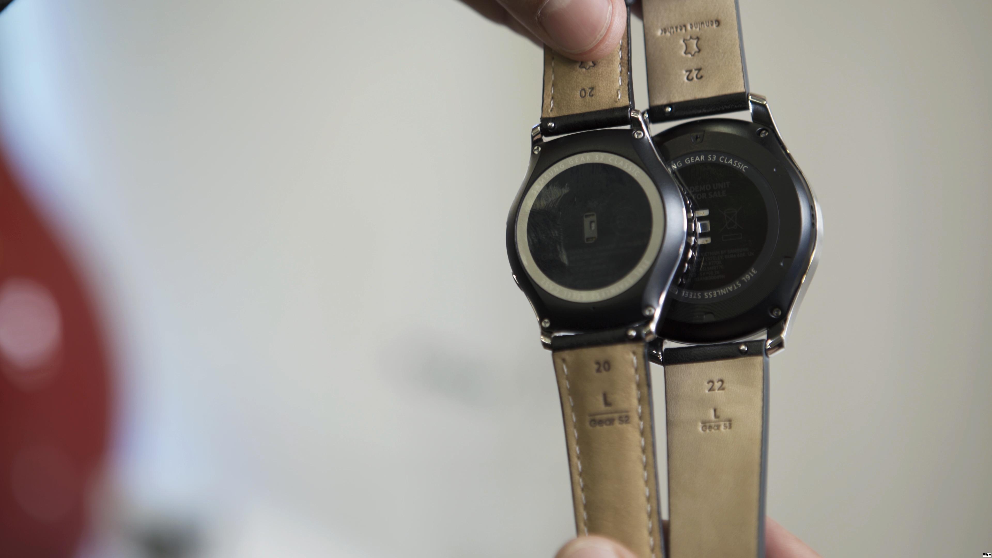 Samsung Gear S3 Release Technische Daten Bilder Und Preis Alle Classic Silver Im Hands On 5