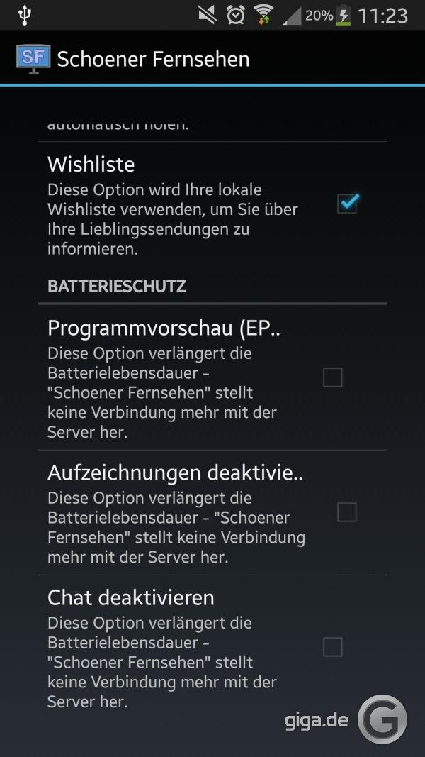 Schöner Fernsehen: APK-Download (Android-App) und Web-App