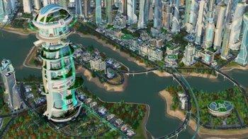SimCity: Städte der Zukunft Screenshot