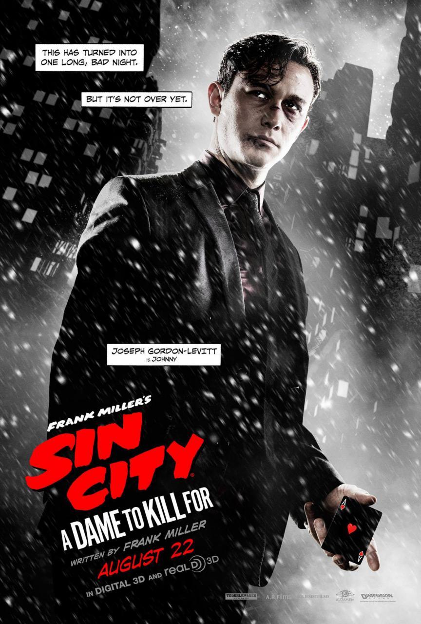 Sin City 2: Fünf stylische Poster mit Jessica Alba und Co. – GIGA