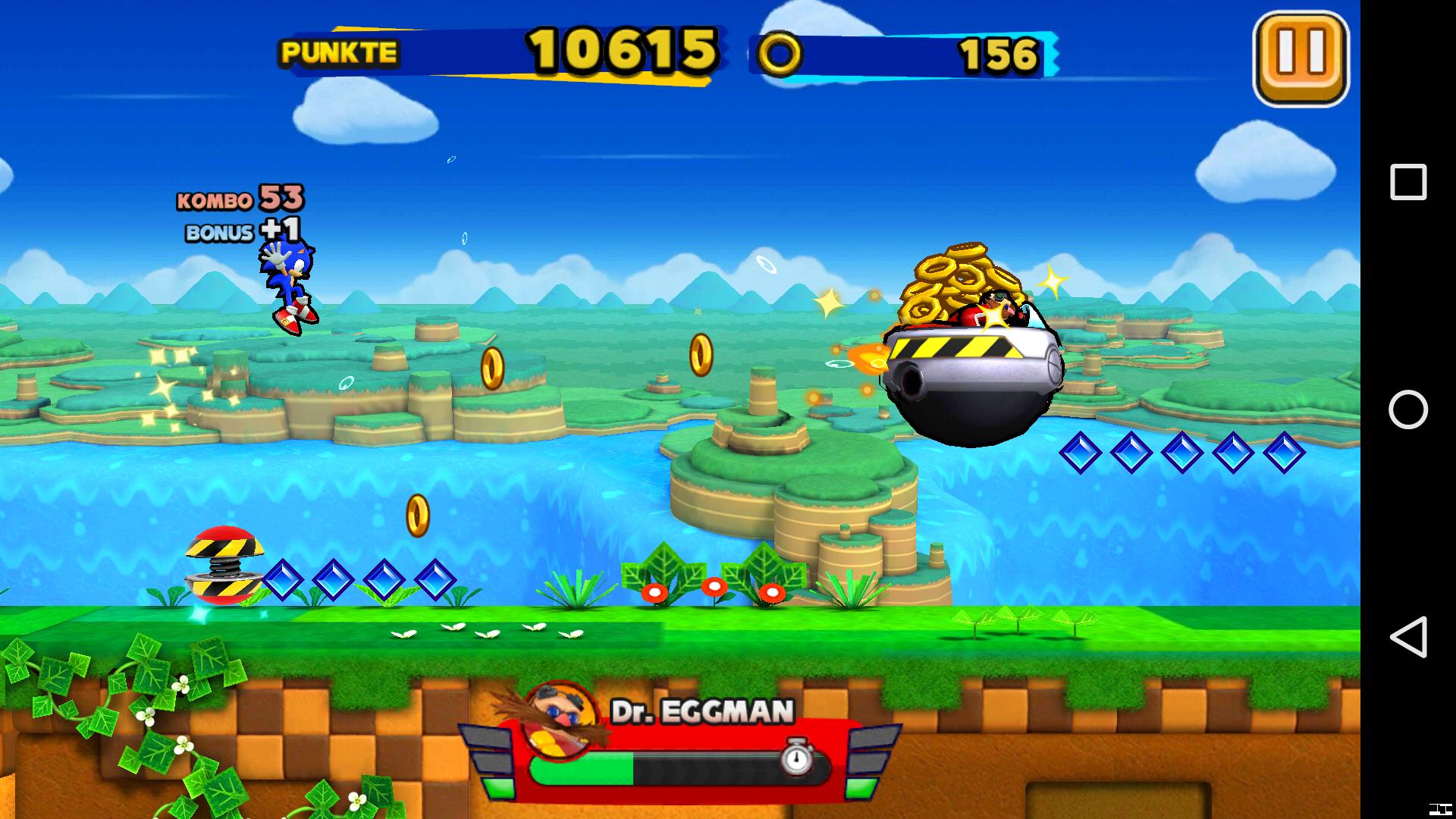Sonic Runners Neuer Endlos Runner Im Klassischen 2d Gewand Giga