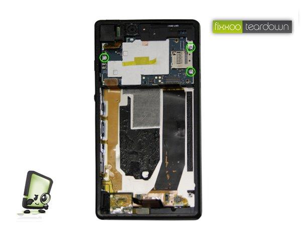 Sony Xperia Z auseinander genommen