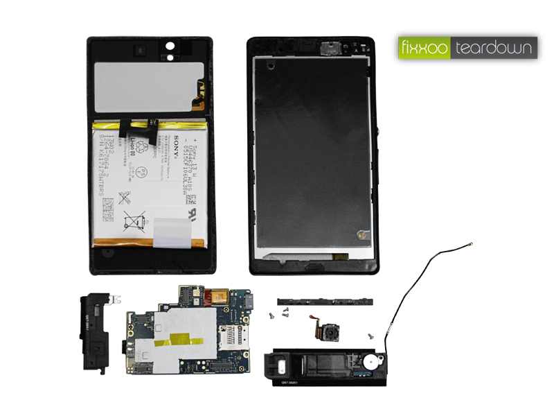 sony xperia z teardown giga. Black Bedroom Furniture Sets. Home Design Ideas